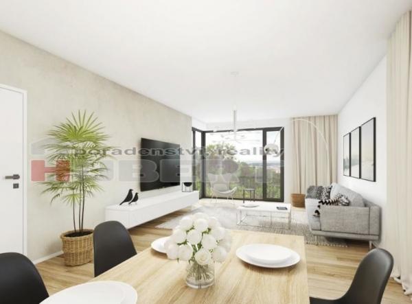 Prodej: novostavba bytu - 1+kk (32 m2) skeletový+cihla, v klidné části Zlína