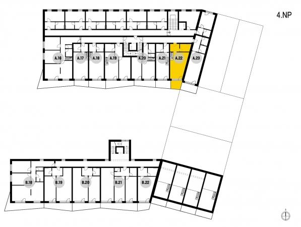 Prodej bytu 1+1 ve Zlíně, Malenovicích