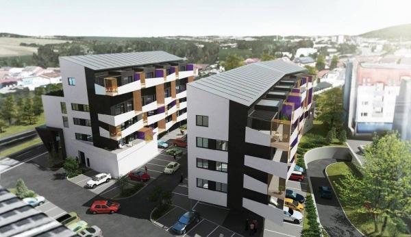 Prodej nového bytu 2+kk Zlín-Malenovice