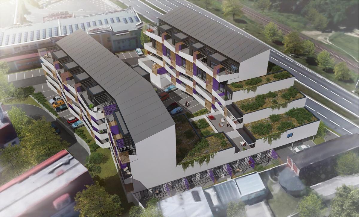 Prodej nového bytu 3+kk Zlín-Malenovice