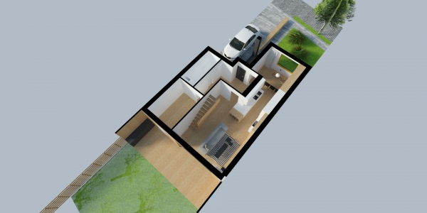 Prodej řadových rodinných domů Holešov-Dobrotice