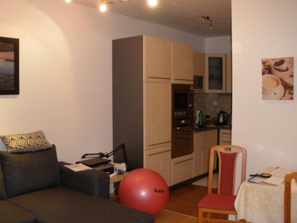 prodej velmi pěkného bytu 2+kk,balkon III.NP vč.moderního zařízení